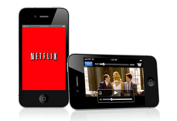 Netflix on the iPhone