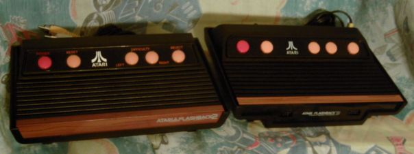 Atari Flashback 2 and Flashback 3 comparison