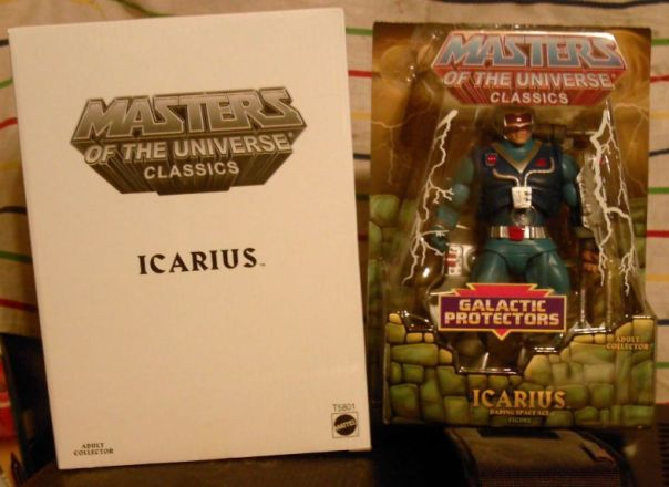 Icarius in packaging