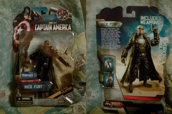 Nick Fury on card
