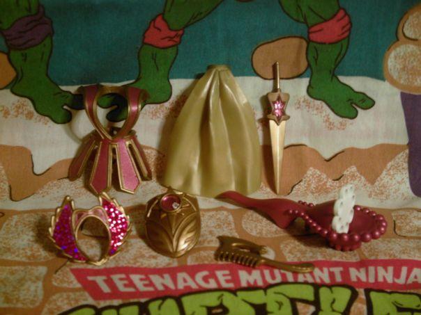 Bubble Power She-Ra accessories