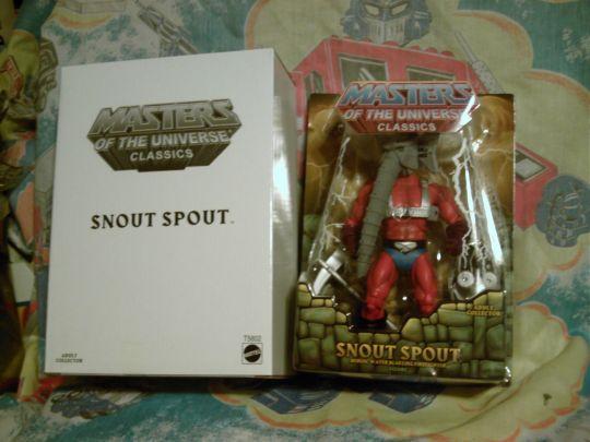 Snout Spout carded