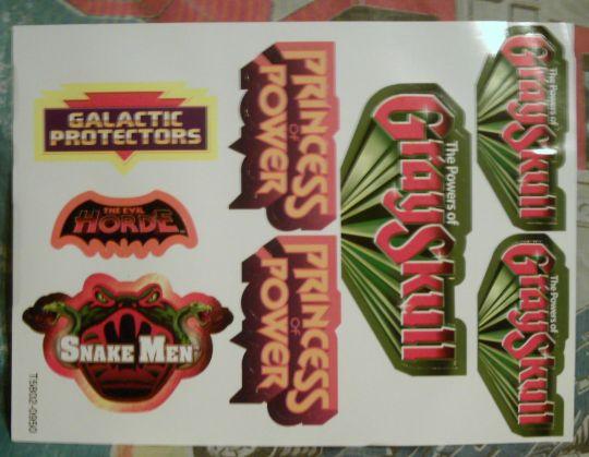 Faction sticker sheet