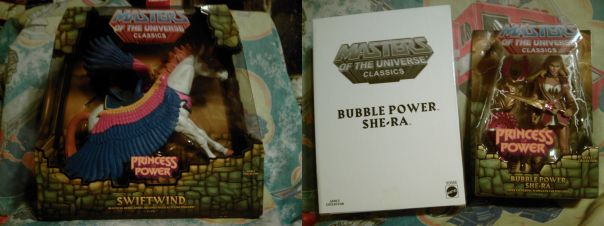 Swiftwind + Bubble Power She-Ra in box