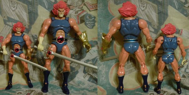 Lion-O front and back