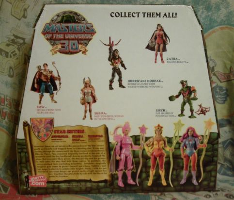 Star Sisters back of the box