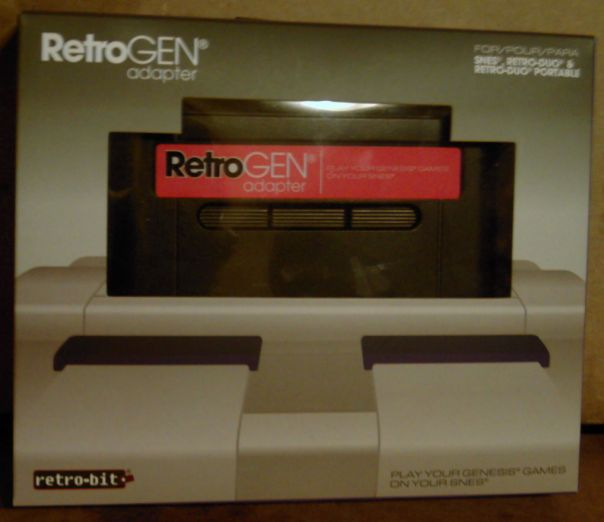 RetroGen Adapter in box