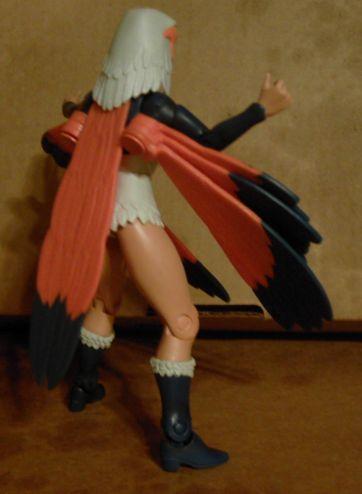 Sorceress' weird wings