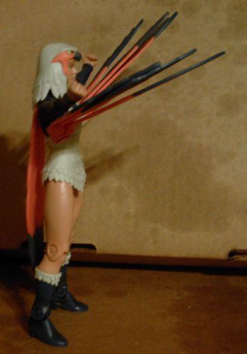 Sorceress' weird wings again