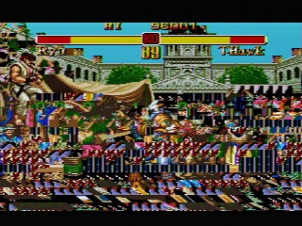RetroGen Super Street Fighter II glitch