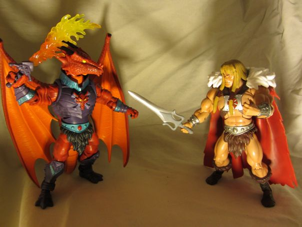 Draego-Man vs. King Grayskull