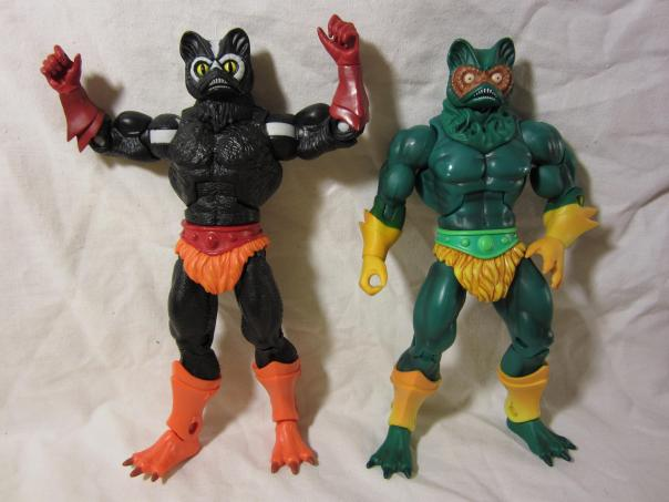 Stinkor and Merman