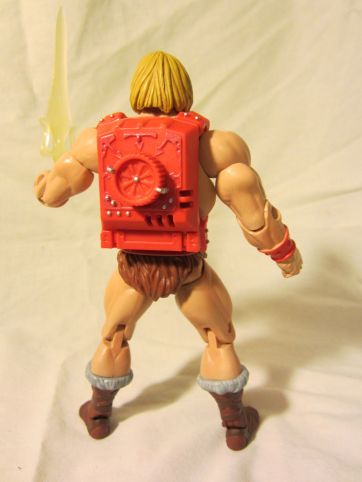 Thunder Punch He-Man back