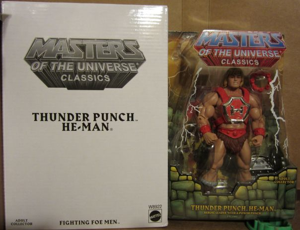 Thunder Punch He-Man boxed