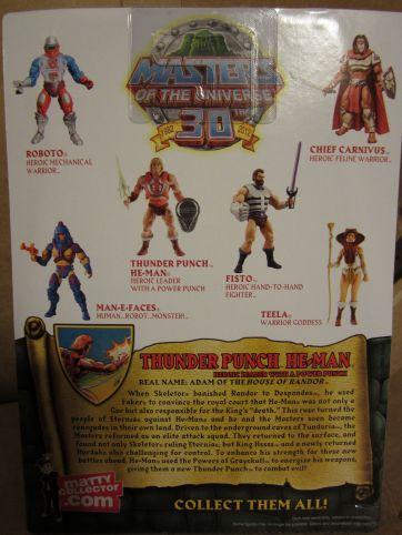 Thunder Punch He-Man cardback