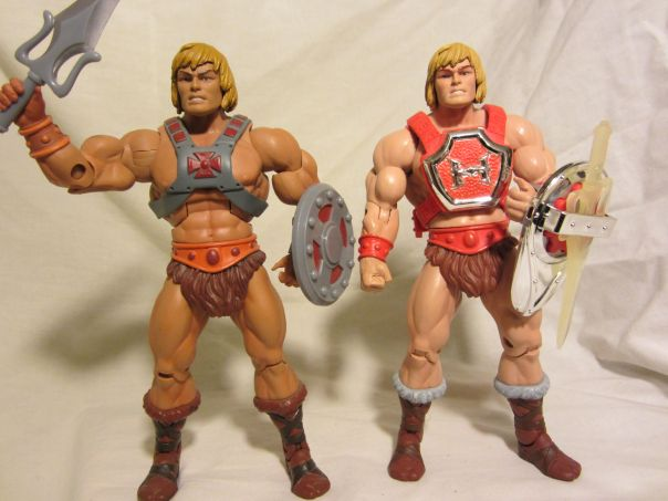 Thunder Punch He-Man Comparison