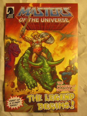Thunder Punch He-Man minicomic