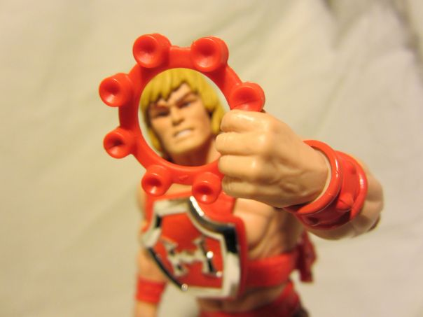 Thunder Punch He-Man ring cap