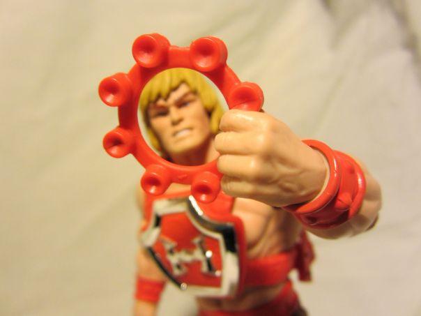 Thunder Punch He-Man ring cap