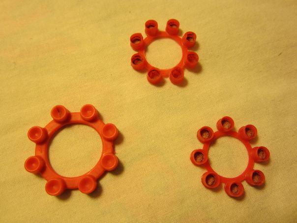 Ring caps