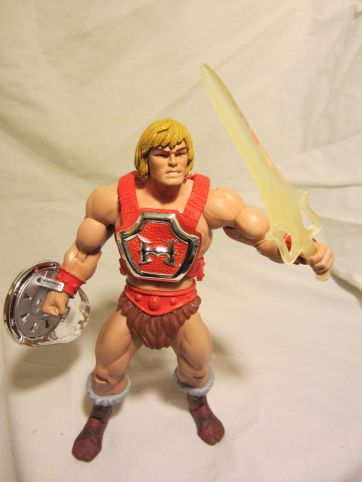 Thunder Punch He-Man with sword