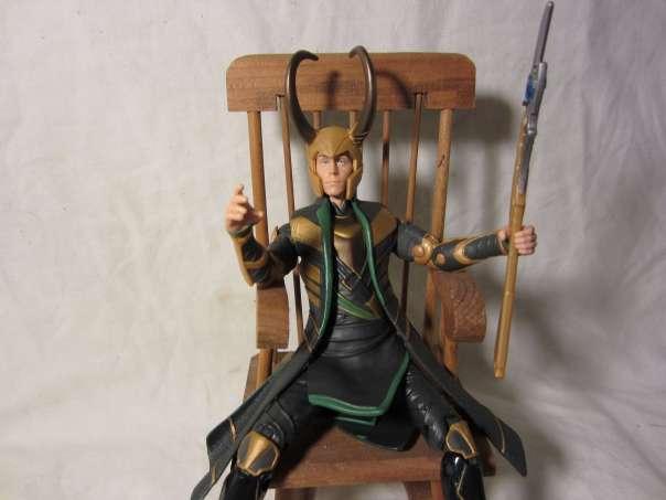 Loki in rocking chair