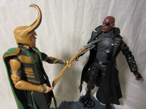 Loki vs. Nick Fury