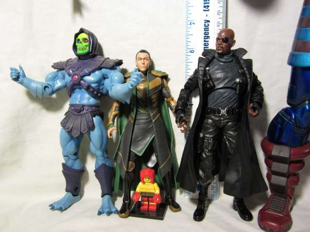 Loki size comparison