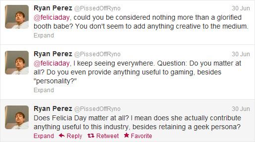 Perez's original tweets.