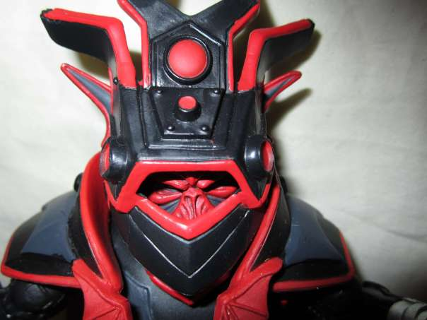 Horde Prime in helmet