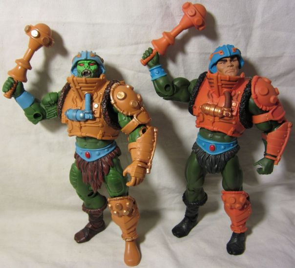 Snake Man-at-Arms comparison