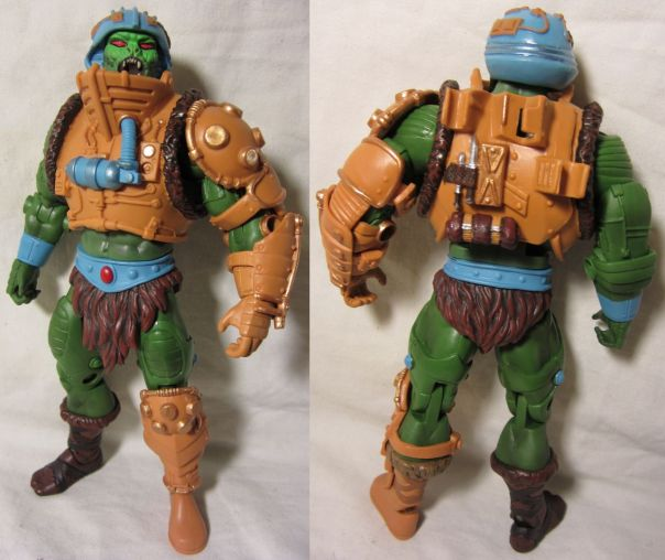 Snake Man-at-Arms front and back