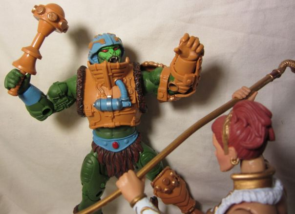 Snake Man-at-Arms vs Teela