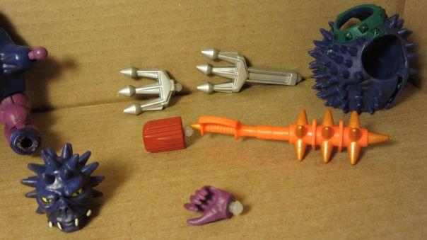 Spikor's accessories