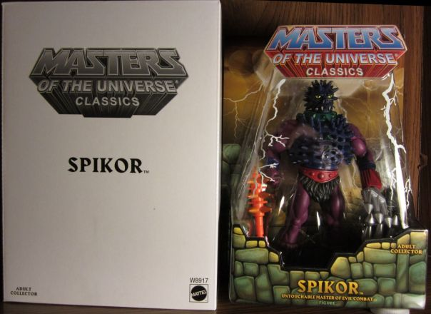 Spikor carded
