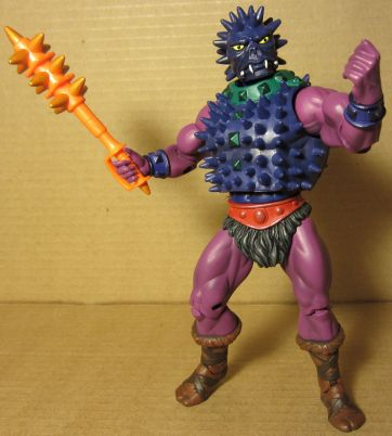 Spikor with club