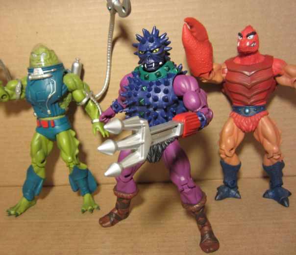 Spikor and His Aqua Pals
