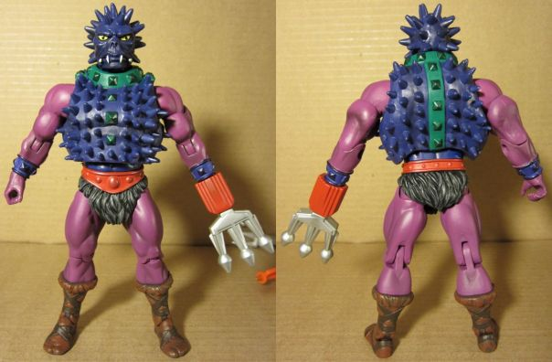 Spikor front and back