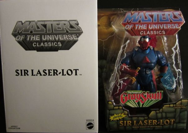 Sir Laser-Lot carded