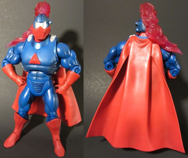 Sir Laser-Lot front and back