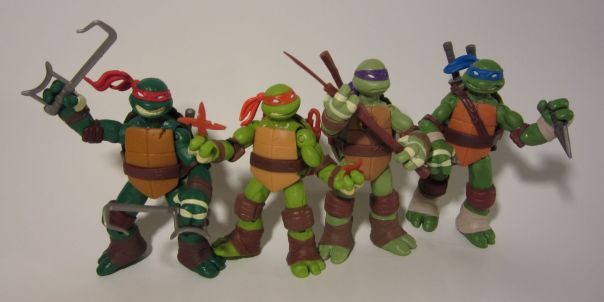 TMNT alternate weapons