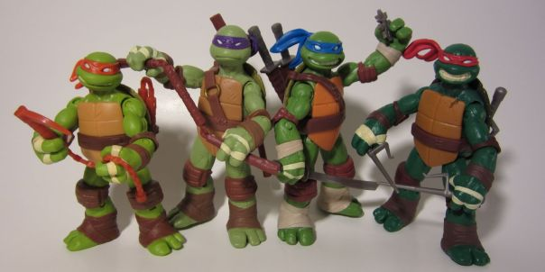 TMNT more alternate weapons