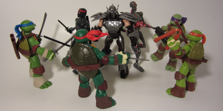 Best Ninja Turtle Toys : Nickelodeon teenage mutant ninja turtles figures a nerd