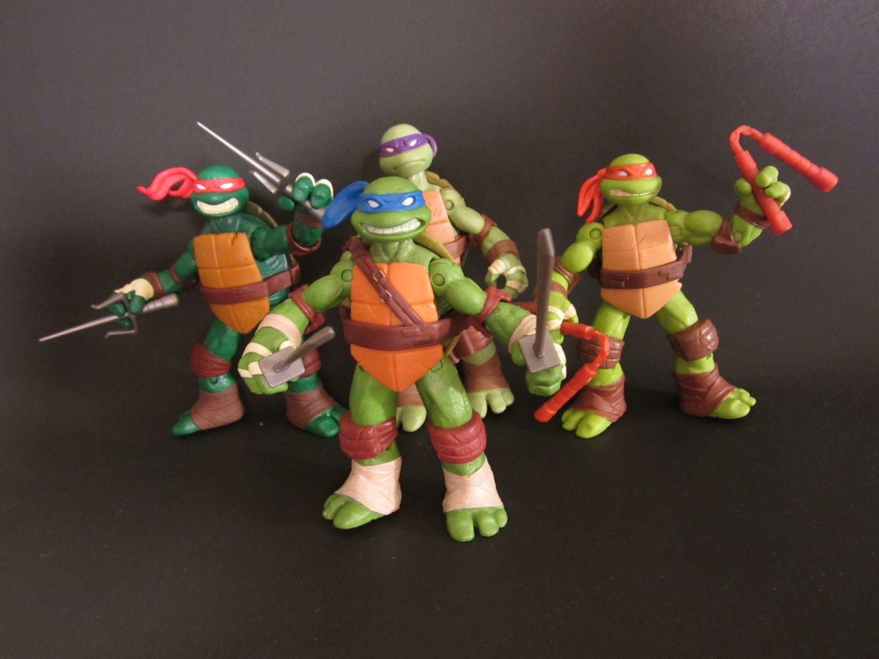 Nickelodeon Teenage Mutant Ninja Turtles figures | A Nerd ...Nickelodeon Ninja Turtles Toys