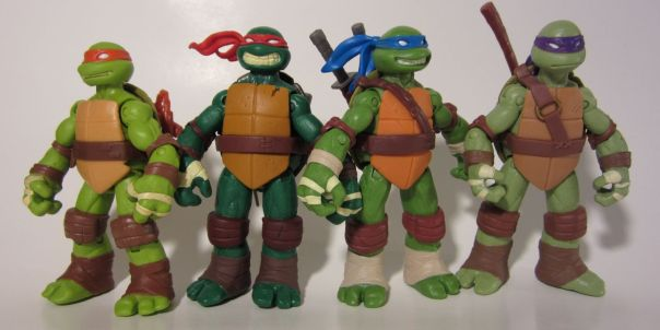 TMNT by height