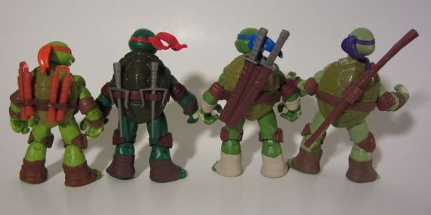 TMNT weapons stored