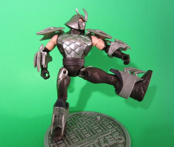 Shredder's articulation
