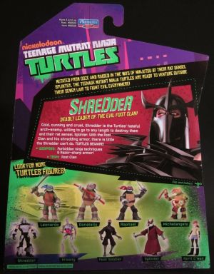 Shredder cardback