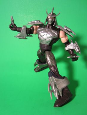 Shredder with shuriken