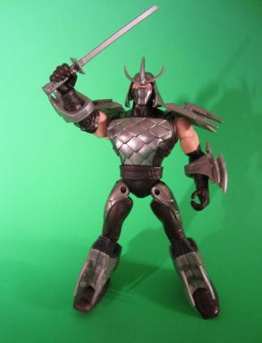 Shredder with sword